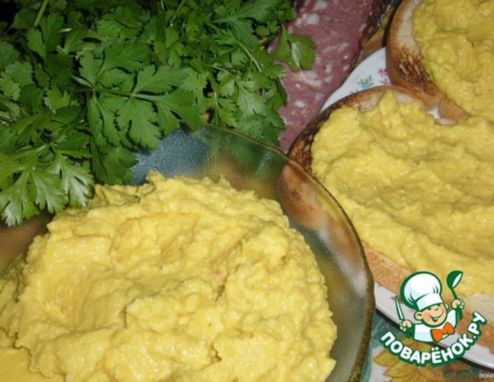 Рецепт: Паштет humus - хумус