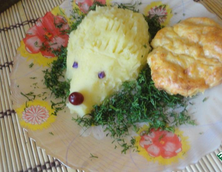 Рецепт: Куриное суфле Малыш с картофельным пюре
