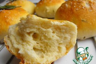 Рецепт: Хлебные булочки с розмарином