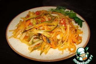 Рецепт: Спагетти из овощей
