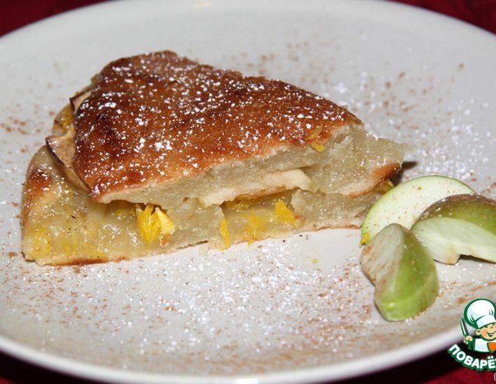 Рецепт: Постный пирог Гости в доме