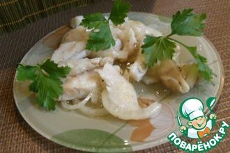 Рецепт: Маринованный судак (толстолобик, кальмары)