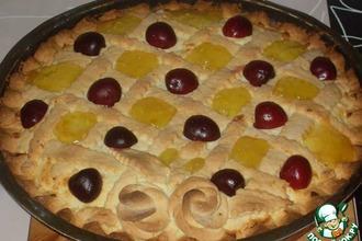 Рецепт: Творожный пирог Забава