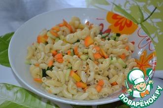 Рецепт: Салат из рожков