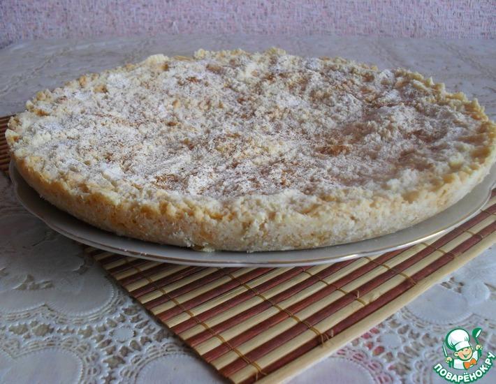 Рецепт: Ватрушка-пирог