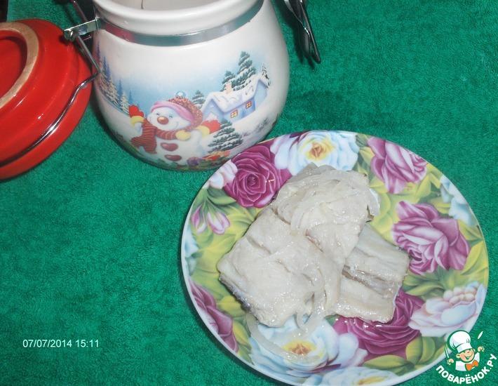 селёдка из карпа рецепт