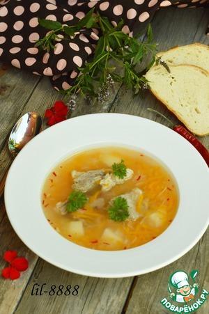 Рецепт Суп из баранины с рисом и алычой