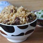 Палау-лобо и салат из редьки