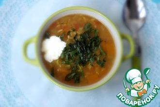 Рецепт: Индийский суп с рисом басмати и пряностями