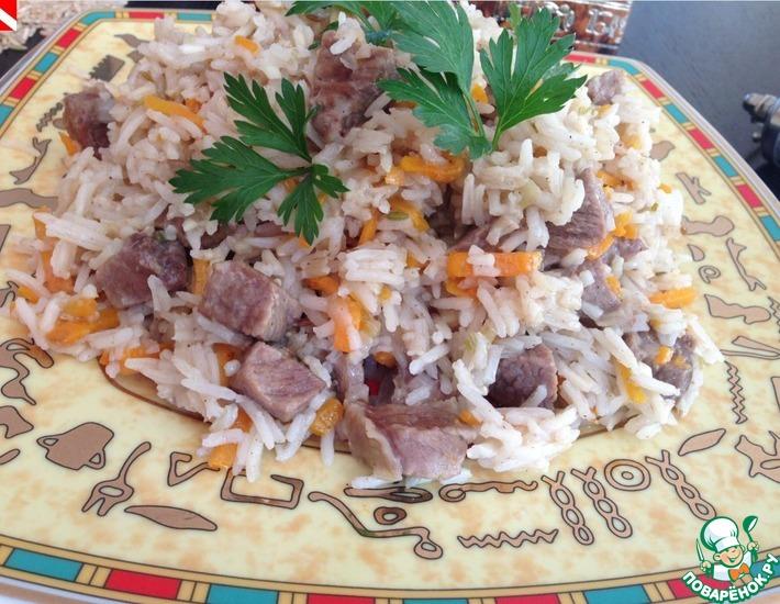 Рецепт: Пакистанский пулао 2 риса, 7 специй