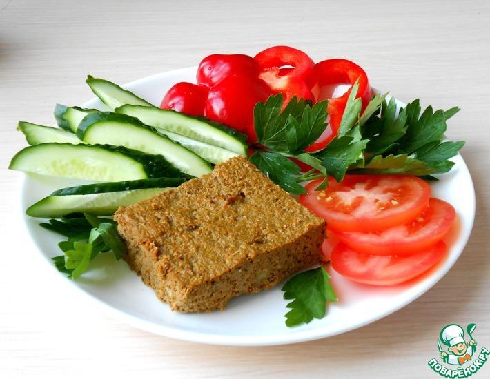 Рецепт: Запеканка из печени с овощами