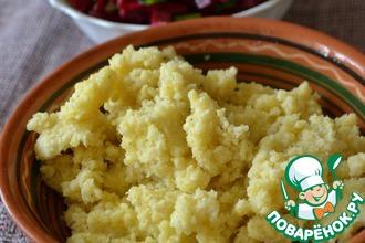 Рецепт: Кабардинская паста из пшена
