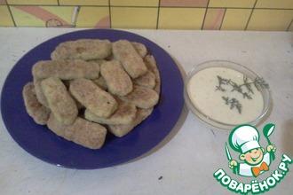 Рецепт: Картофельные палочки