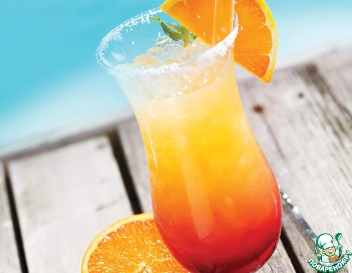 Рецепт: Коктейль Пляж