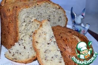 Рецепт: Деревенский семенной хлеб