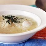 Суп с яйцом Жидкий рис