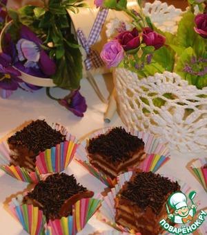 Рецепт Пирожное на скорую руку или десерт без выпечки