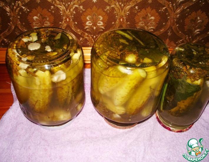 Рецепт: Солёные огурцы по-русски