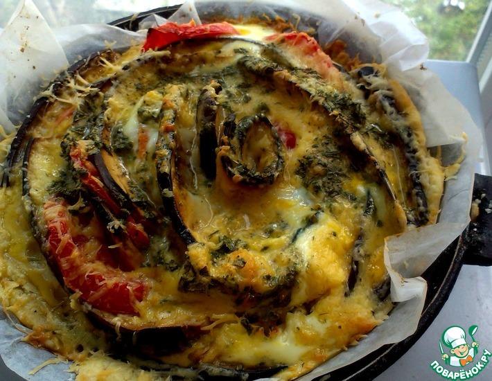 Рецепт: Овощной пирог