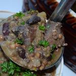Суп из глиняного горшочка Хамин