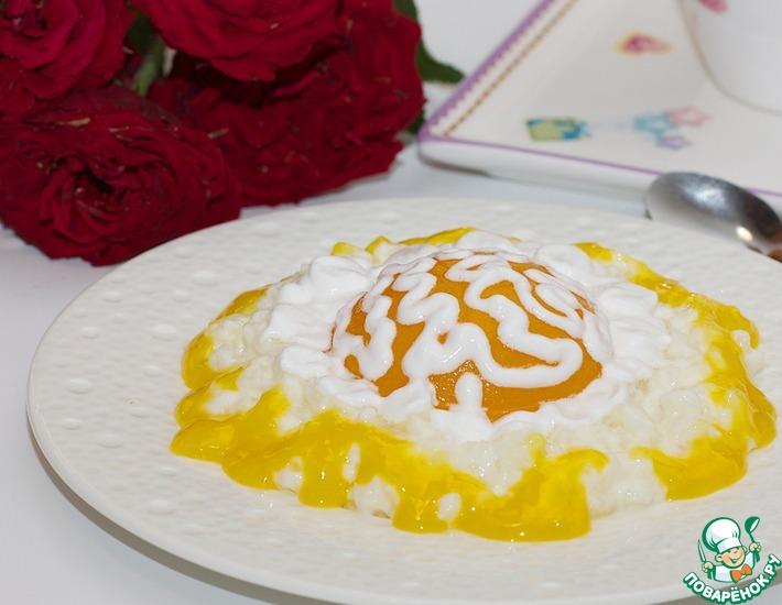 А ля рисовые равиоли с апельсиновым соусом – кулинарный рецепт