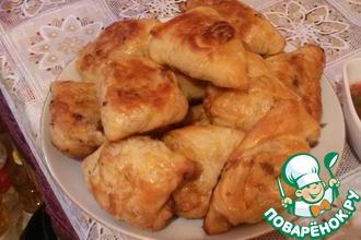 Рецепт: Самса Узбекская слоёная