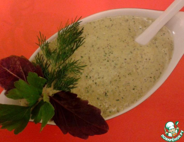 Рецепт: Базиликовый соус к мясу