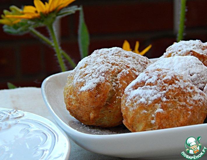 Рецепт: Пирожки рисовые с корицей (фри)