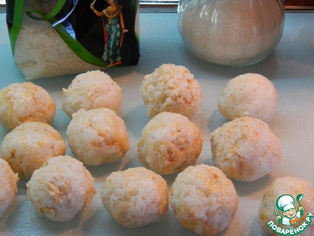 Пирожки рисовые с корицей (фри)