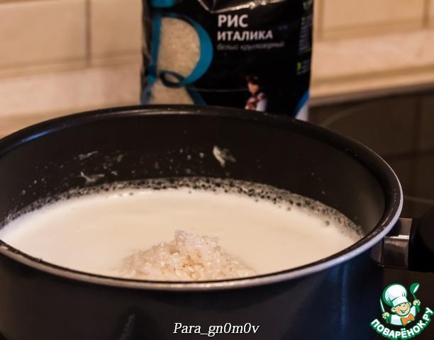 Рисовый пудинг с карамелью от Джейми Оливера