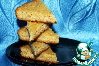 Рецепт: Сметанно-овсяный пирог