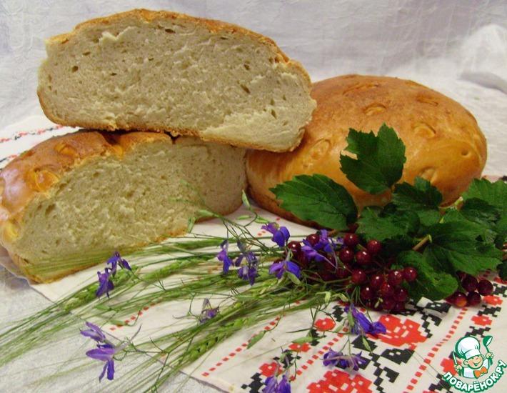 Рецепт: Самый пушистый хлеб