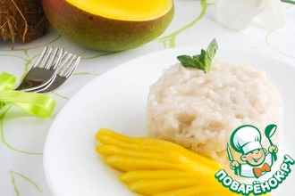 Рецепт: Тайский клейкий рис с манго