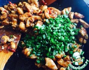 Курица Кунг Пао Соевый соус