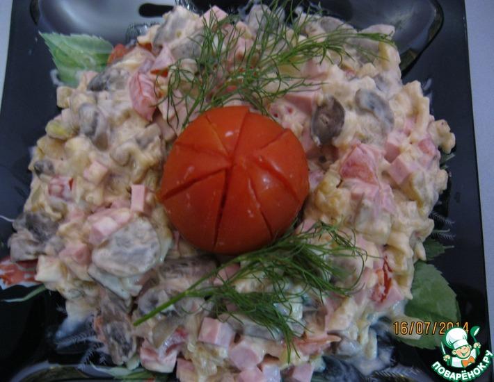 Рецепт: Салат Своеобразный