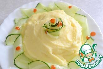Рецепт: Очень вкусное картофельное пюре Нежность