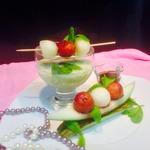 Десерт  Жемчужная дыня