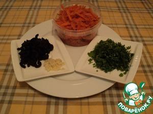 Яичная запеканка с кабачковыми рулетами и морковью – кулинарный рецепт