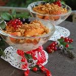 Салат из абрикосов с печеньем