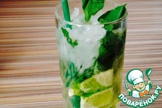 Рецепт: Безалкогольный освежающий напиток Мохито