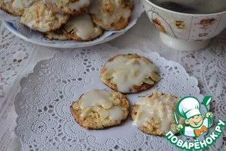 Рецепт: Печенье В поисках Amandelle
