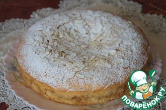 Рецепт: Французский миндально-яблочный пирог