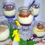 Рисовый десерт со вкусом корицы