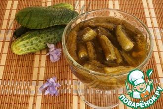 Рецепт: Варенье из огурцов с мятой