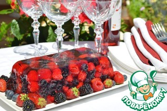 Рецепт: Террин из летних ягод