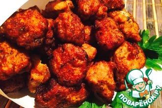 Рецепт: Маленькие куриные Хрустики с большим секретом