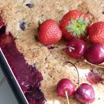 Летний пирог Три ягоды