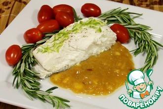 Рецепт: Палтус с цитрусовым соусом