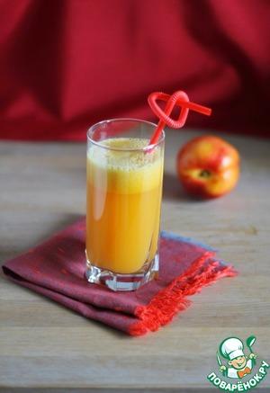 Сок из нектаринов с манго