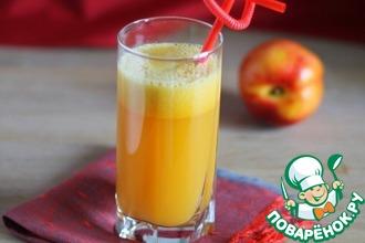 Рецепт: Сок из нектаринов с манго